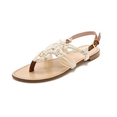 Alfresco Macrame Sandals