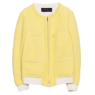 Cardigan With Patch Pockets