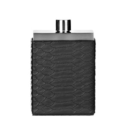 Flask With Snakeskin Embossed Case