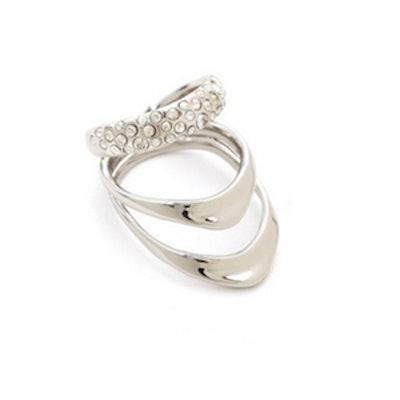 Crystal Draping Ring