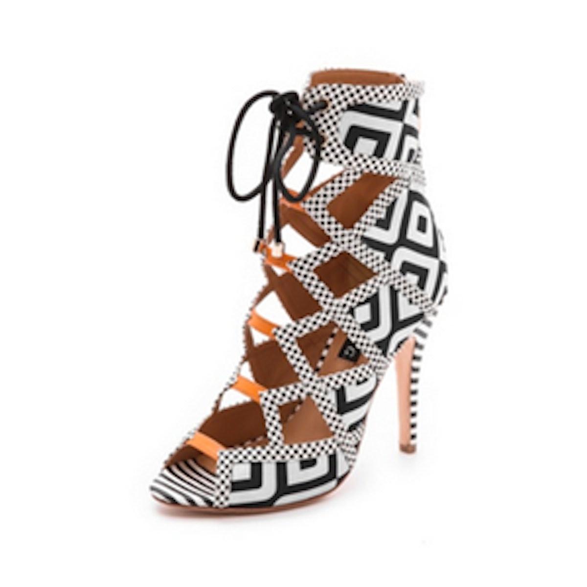 Wanda Lace-Up Sandals