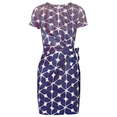 Zoe Printed Silk Jersey Dress