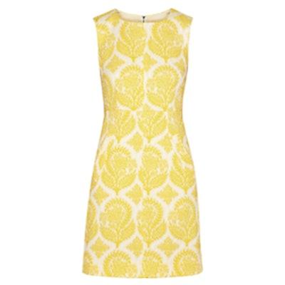Carpreena Jacquard Dress