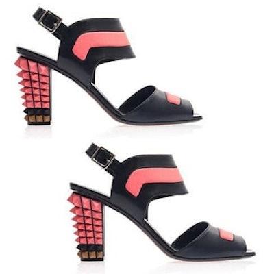 Polifina Studded Heel Sandals