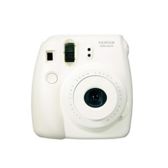 White Instax Mini 8 Camera