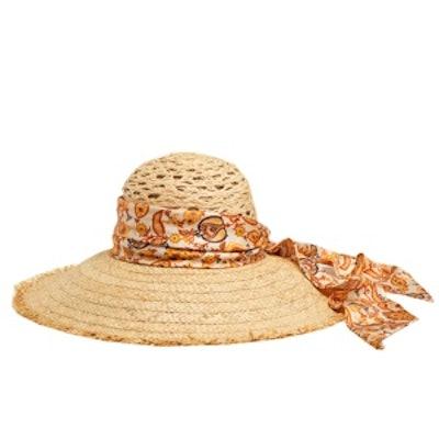 Straw Wide Brimmed Hat