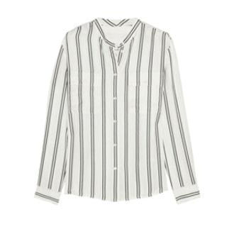 Orchid Striped Print Blouse