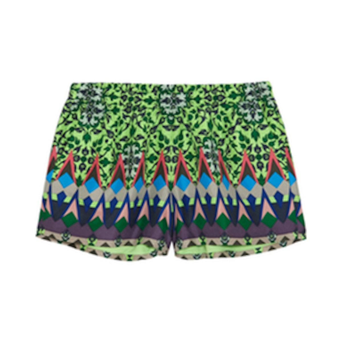 Gemstone Floral Shorts