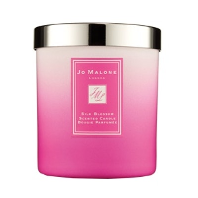 Silk Blossom Home Candle