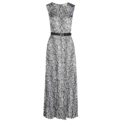 Kingsnake Belted Jersey Dress