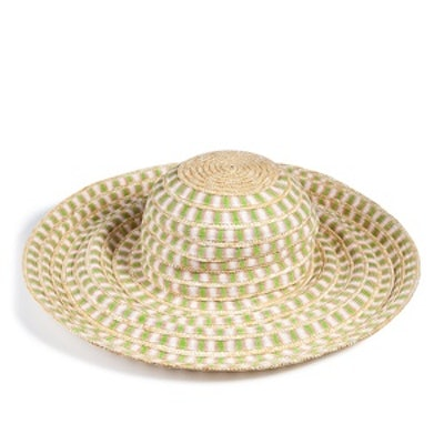 Cotton and Straw Sunhat