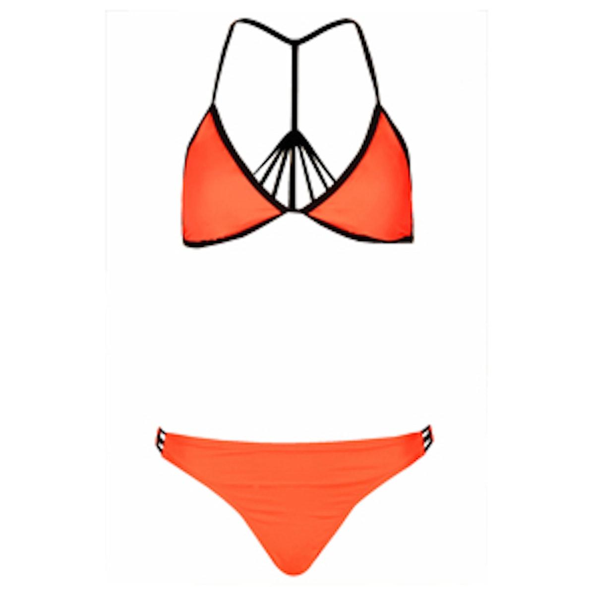 Watermelon Strappy Back Bikini