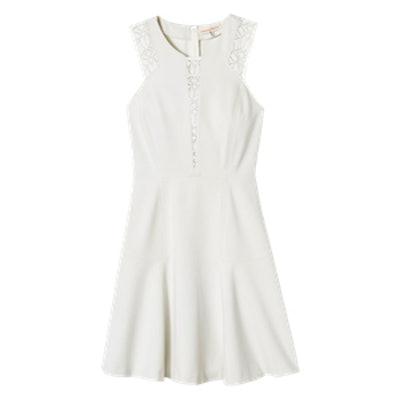 Lace & Ponte Dress