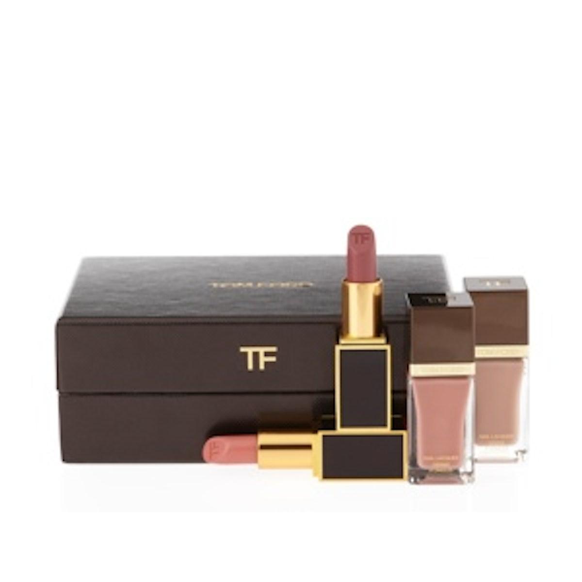 4 Piece Lips & Nails Gift Box Set