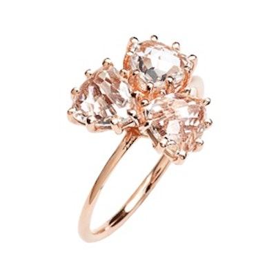 Triple Trillion Stone Ring