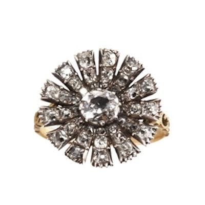 Diamond Carnation Ring