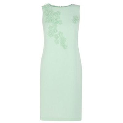 Applique Flower Dress