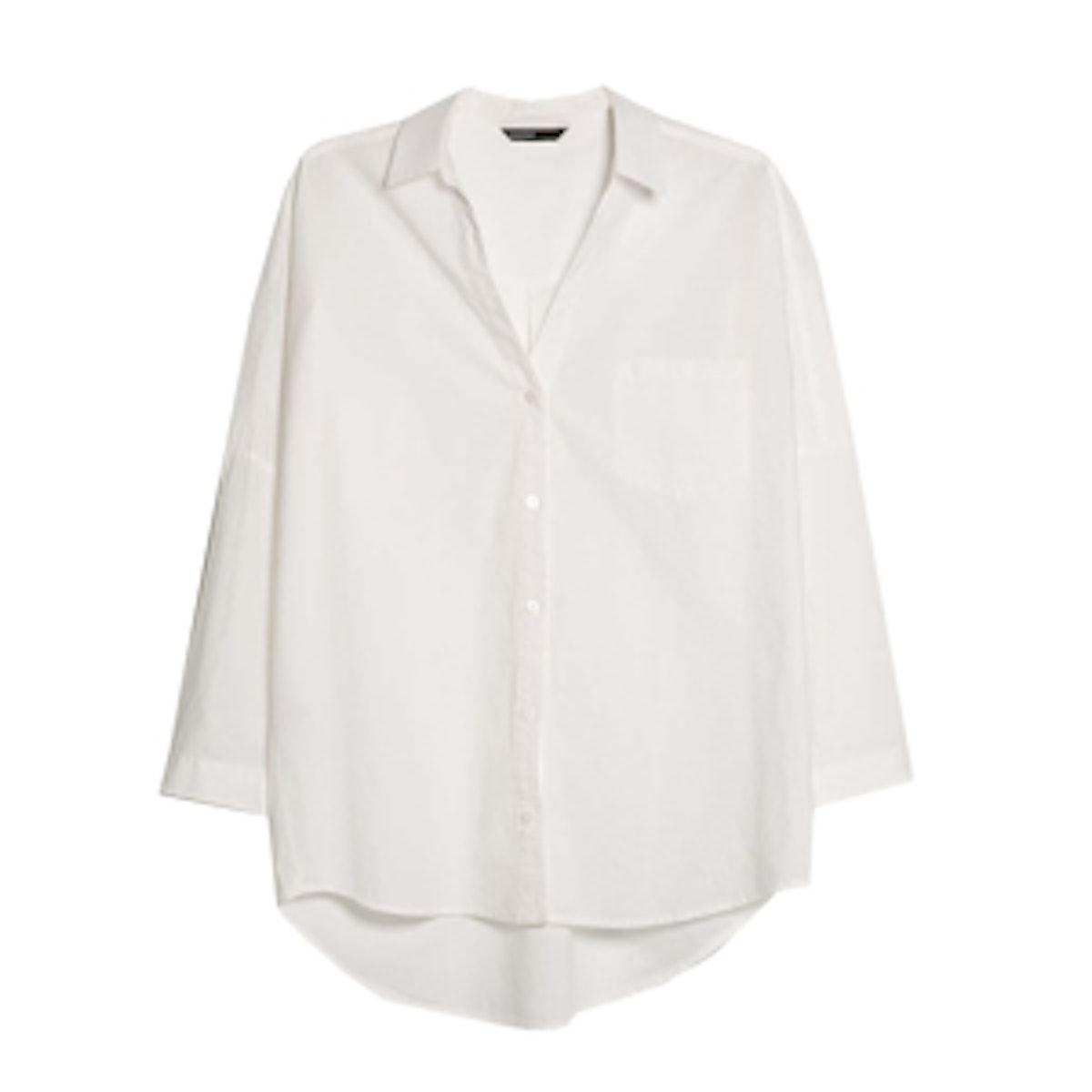 Cotton Oversize Shirt