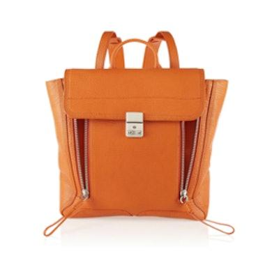 Pashli Shark-effect Leather Backpack