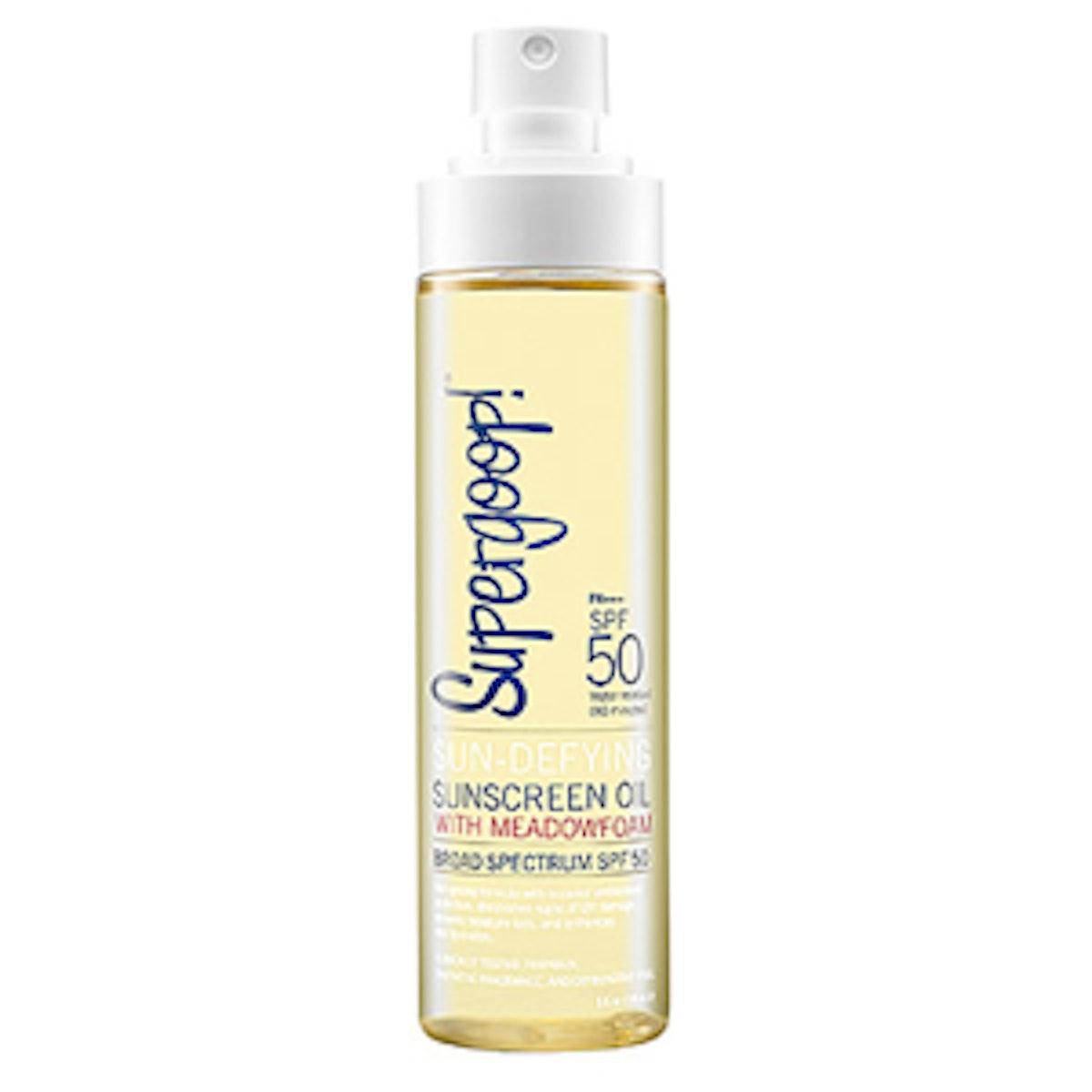 Sunscreen Oil SPF 50