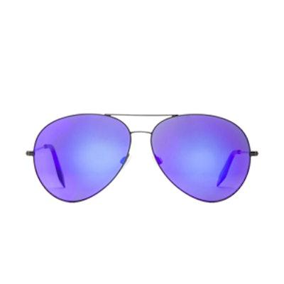 Aviator Sunglasses in Midnight Eclipse