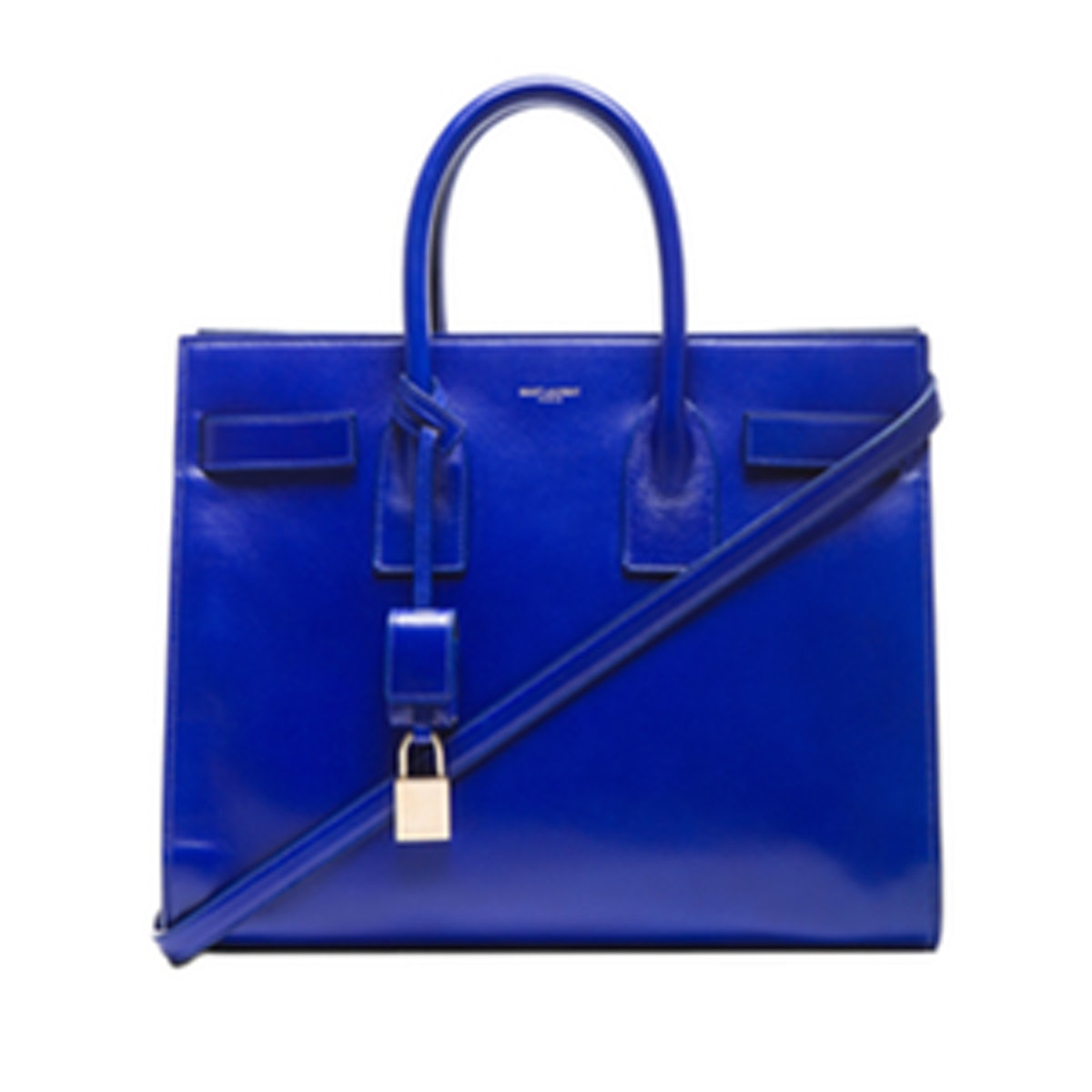 Small Sac De Jour Bag in Neon Blue