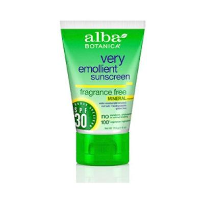 Very Emollient Sunscreen