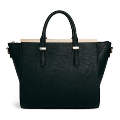 Handheld Bag With Metal bar
