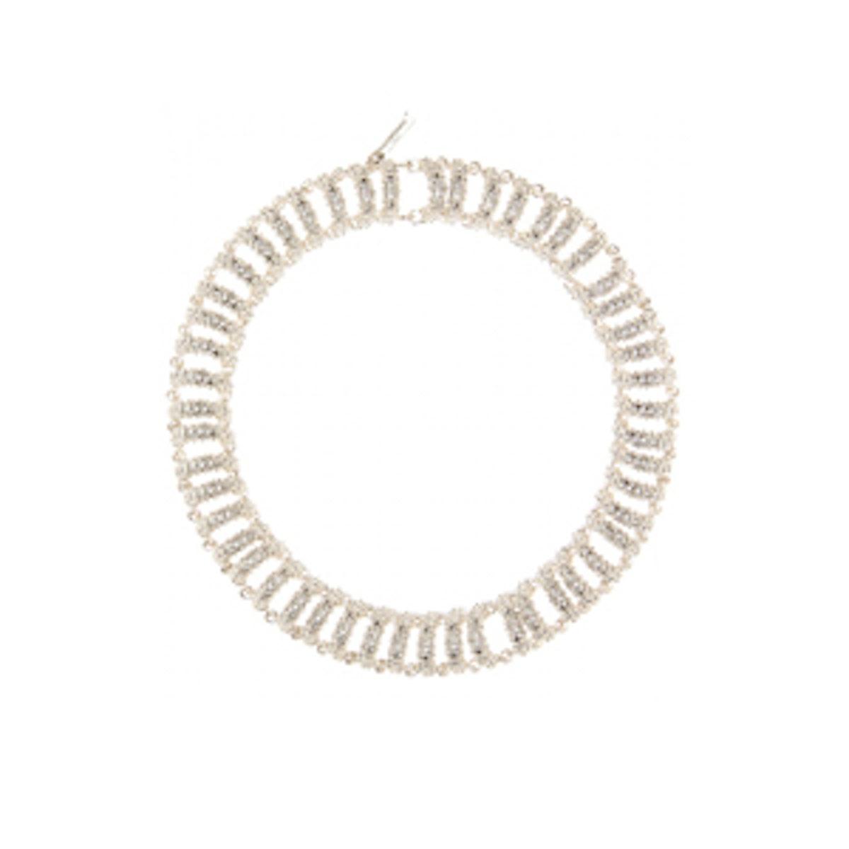 Chain Bubble Track Necklace