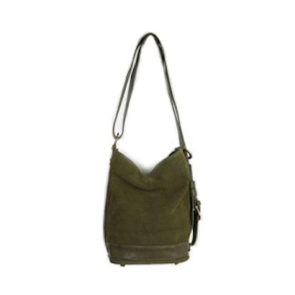 Convertible Sling Bucket Bag