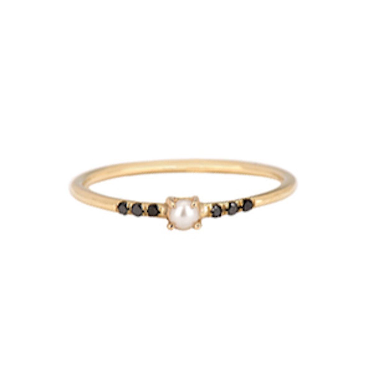 Equilibrium Pearl Ring