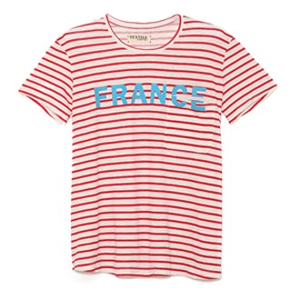 France Stripe Bowery Tee