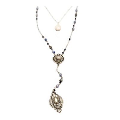 Double Layer Rosary Necklace