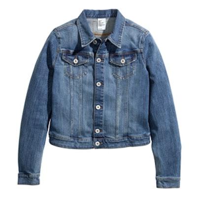 Denim Jacket in Denim Blue