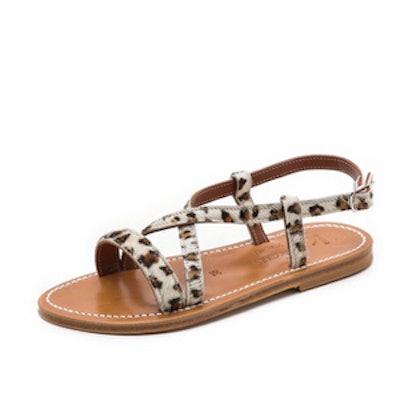 Flavia Crisscross Sandals