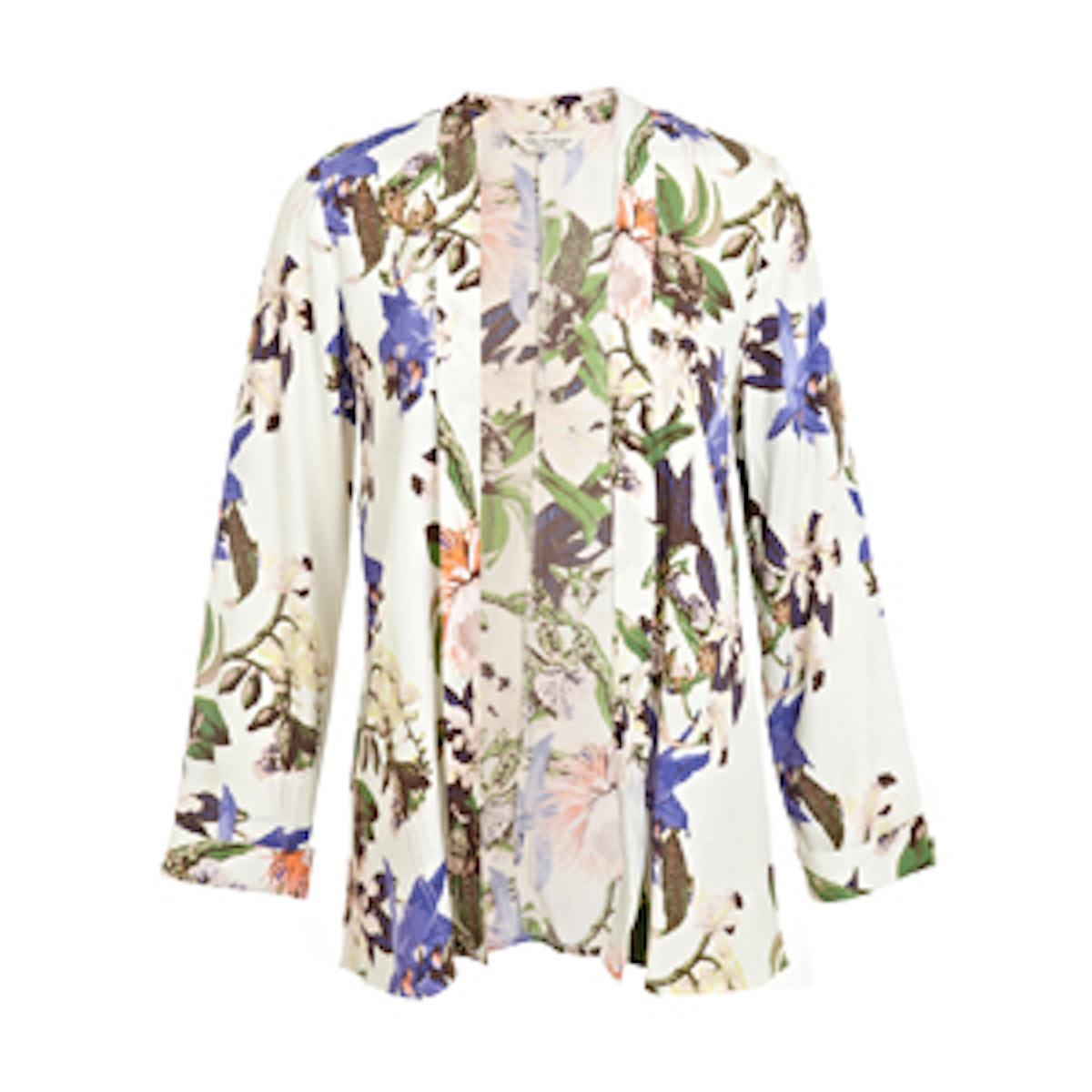 Botanical Kimono Jacket