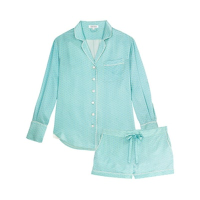 Alba Rita Silk Pajama Set