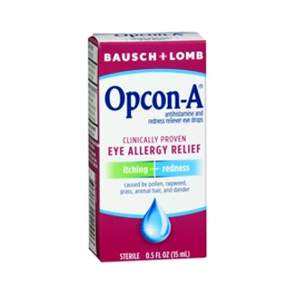 Itching and Redness Reliever Eyedrops