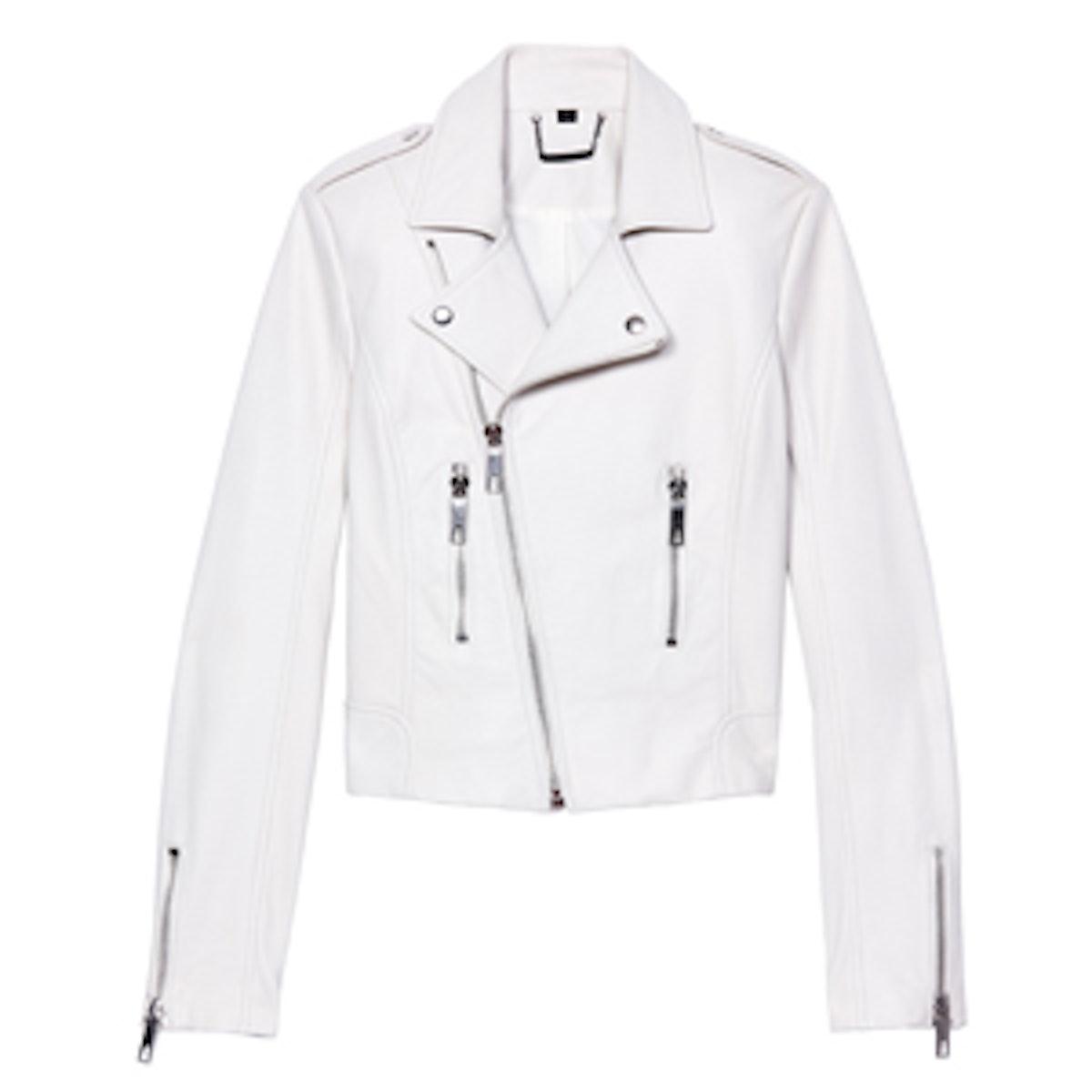 Shay Leather Motorcycle Jacket