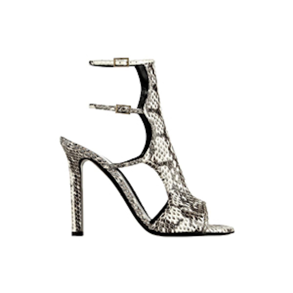 Bad Girl Printed Elaphe Sandals