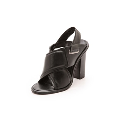 Cleo Cross Strap Sandals