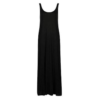 Scoop Back Jersey Maxi Dress