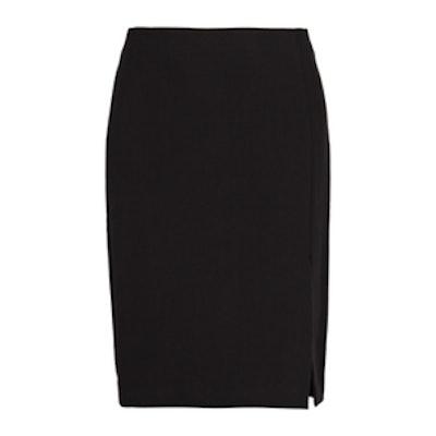 High Waist Split Skirt