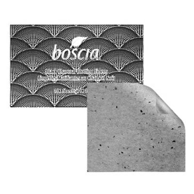 Black Charcoal Blotting Linens