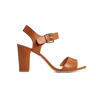Sadie Tan Heeled Sandal