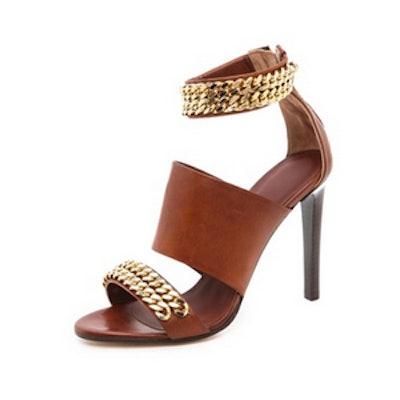 Chain High Heel Sandals