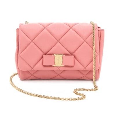 Soft Quilted Shoulder Bag