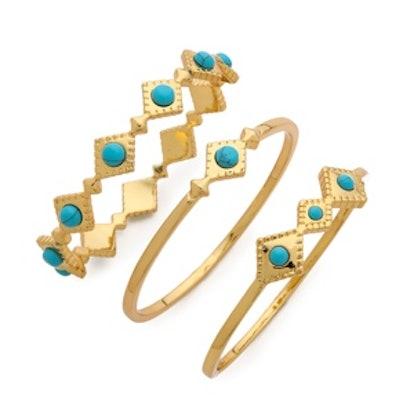 Cleopatra Bangle Bracelets