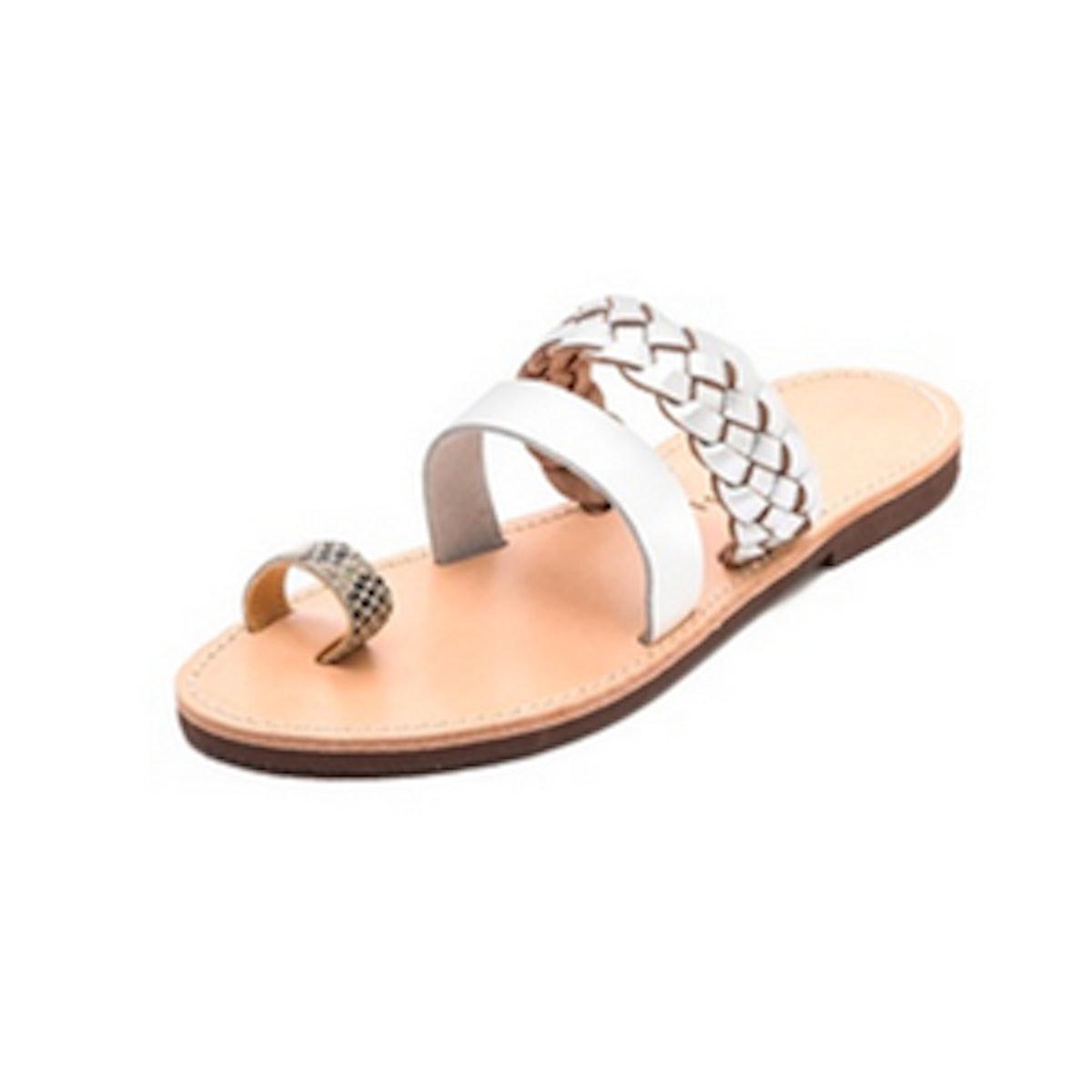Iliotropio Two Band Sandals