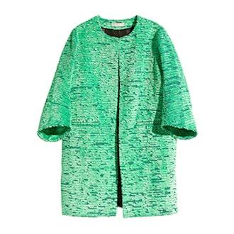 Jacquard Weave Coat